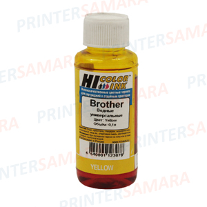 Чернила Brother Yellow Hi Black 100ml в Самаре