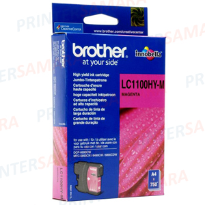 Картридж Brother LC 1100HY Magenta в Самаре