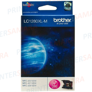 Картридж Brother LC 1280XL Magenta в Самаре