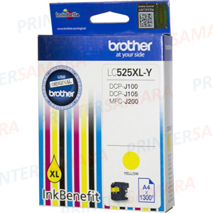 Картридж Brother LC 525XL Yellow в Самаре