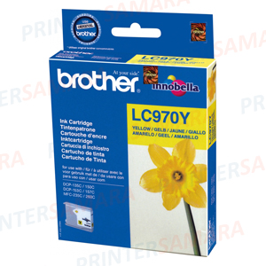 Картридж Brother LC 970 Yellow в Самаре